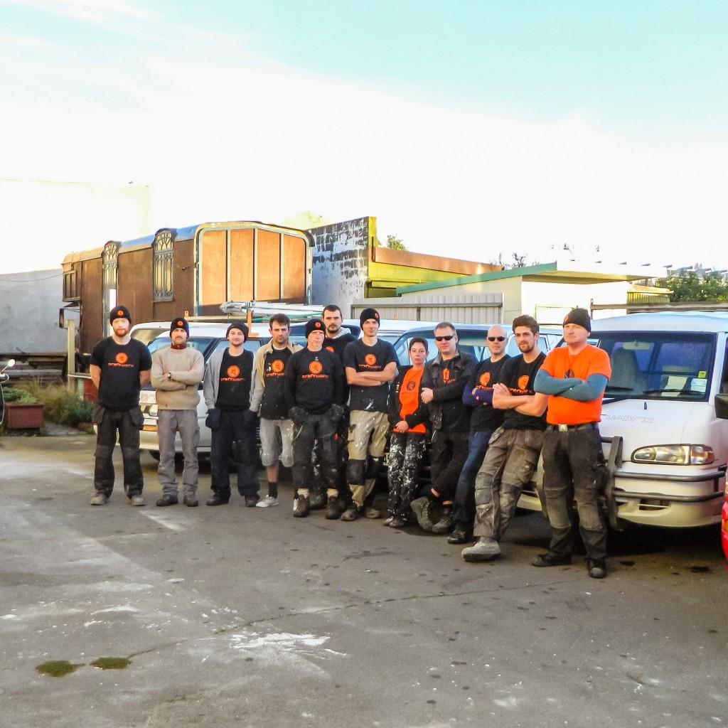 The Craftworx team.